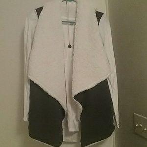 Sherpa reversible vest